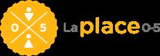 Logo de La Place 0-5, l'unique guichet d'accès aux services de garde du Québec.