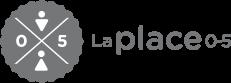 Logo de La Place 0-5. Cliquez sur ce dernier pour revenir à la page d'accueil